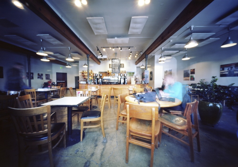 Five Minutes at Noble | Innova 6x9 Pinhole | Ektar 100 | Colton Allen