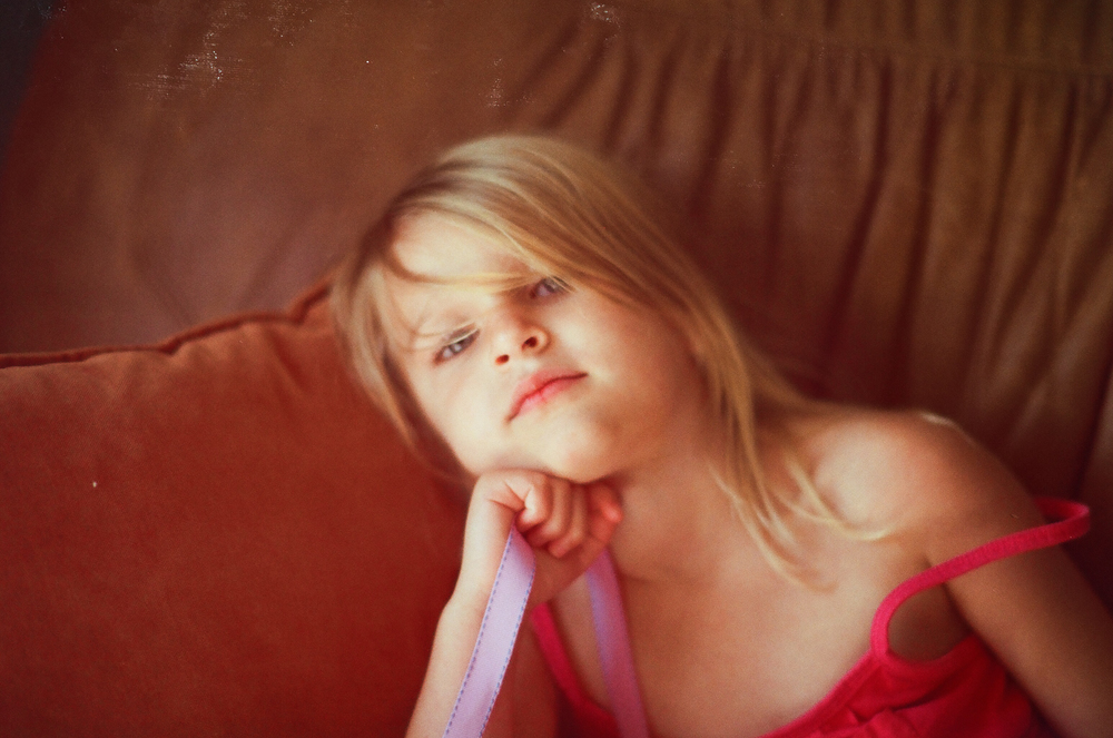Portrait | Nikon F4 | Laura Yurs