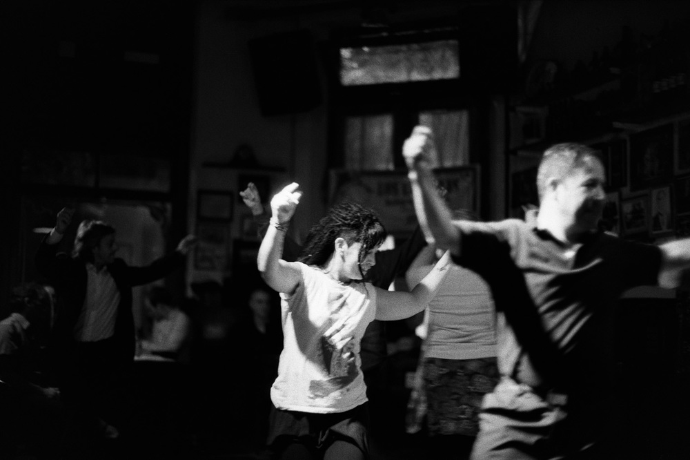 Chacarera  dancing is part of a good tango night out in Buenos Aires