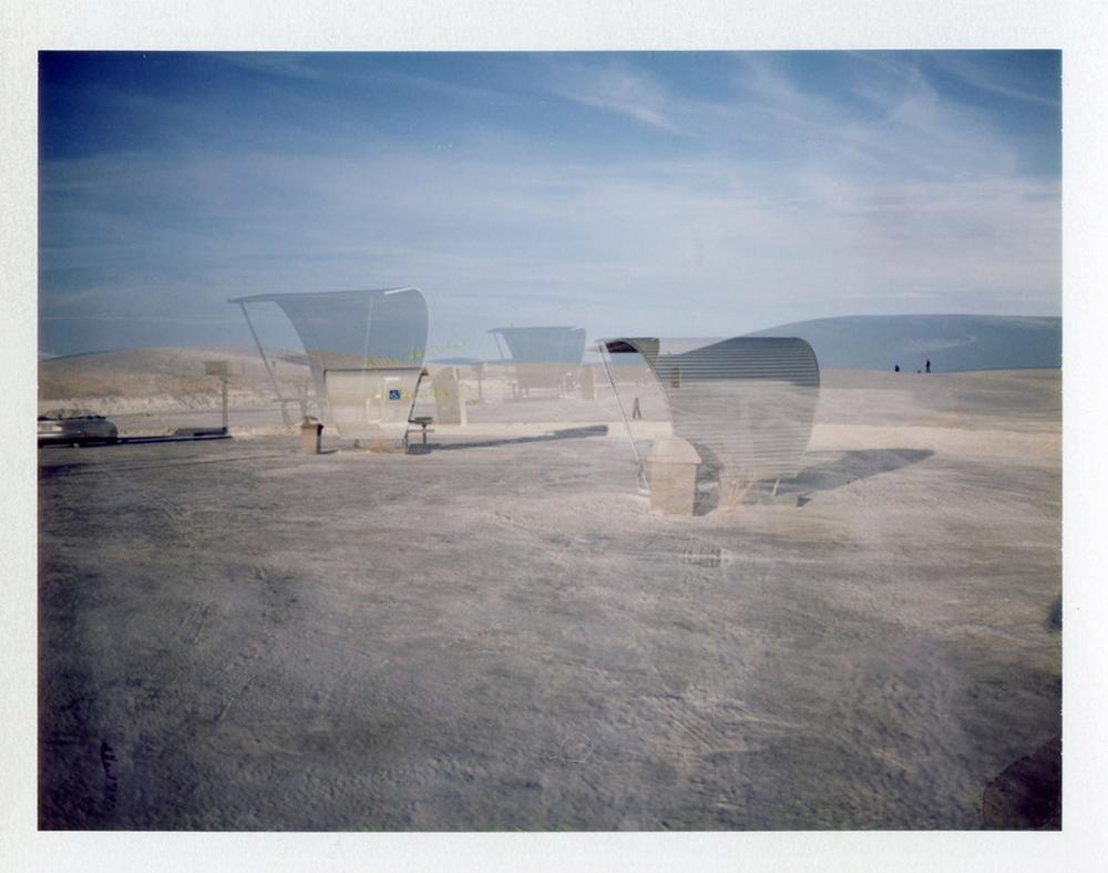 White Sands | Polaroid Automatic 100 Land Camera | Barbara Justice