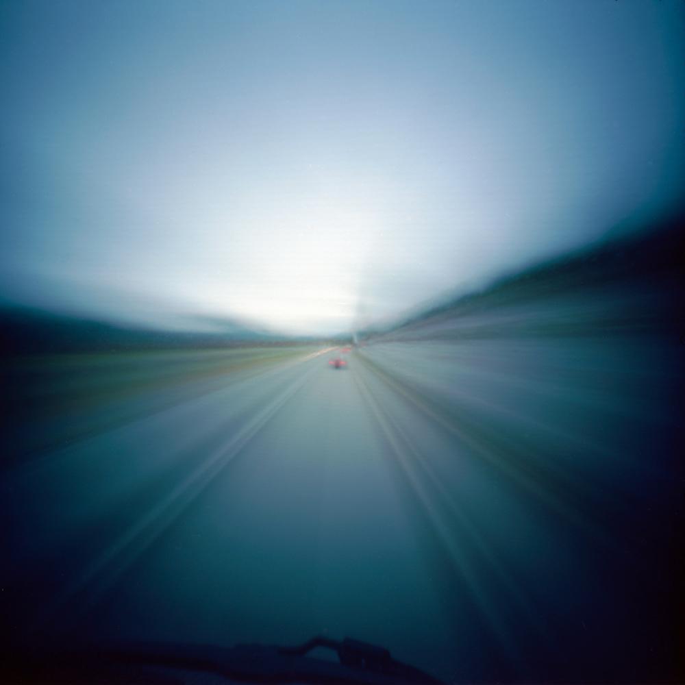 On the Road | 6x6 pinhole | Kodak Ektar 100 | Jesús Joglar