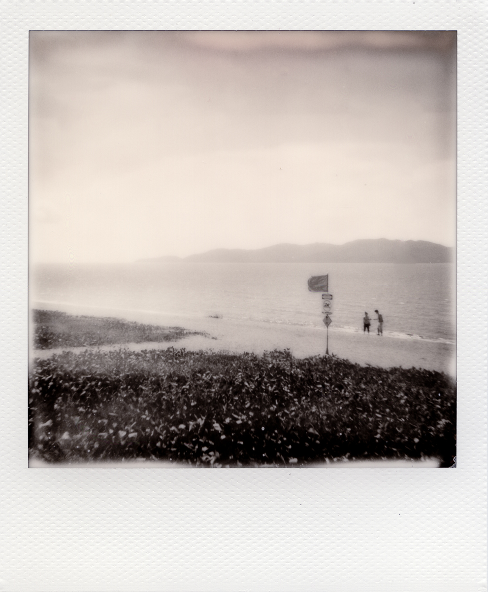 The Strand | Polaroid 670 | Impossible BW | Greg Williamson