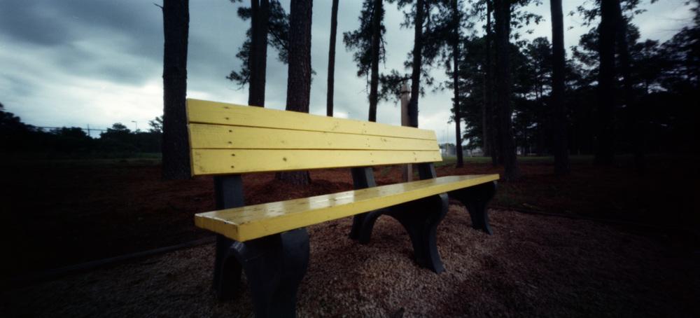 Park Bench | Holga 120 WPC | Lomo 100 | Bobby Kulik