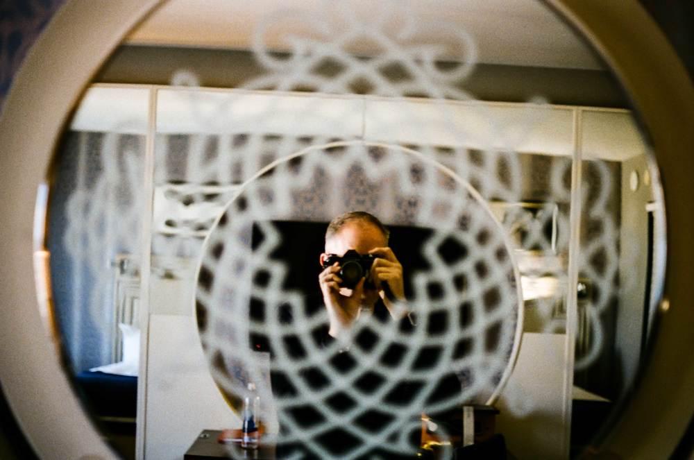 Michael Fauscette | selfie | Pentax Spotmatic F | Super Tak 50mm f1.4 | Portra 800