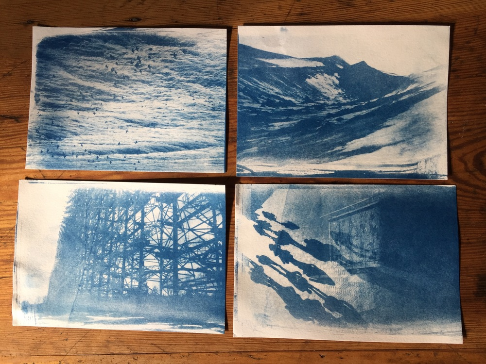 Blueprints a beginners guide to cyanotypes richard p j lambert what you need malvernweather Image collections