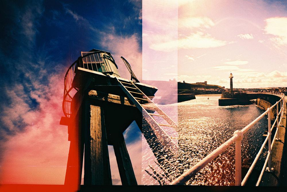 Lucy Wainwright | Yorkshire Seaside | Diana F+ | Velvia 100f