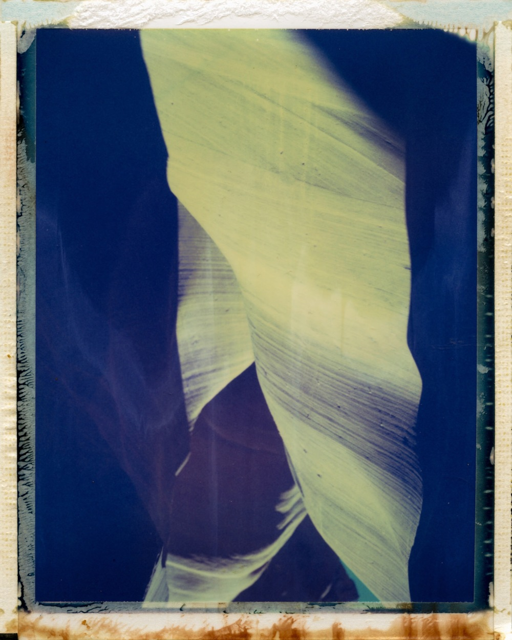 Antelope Canyon | Polaroid Land Camera 180 | Polaroid IDUV FIlm | Peter McCabe