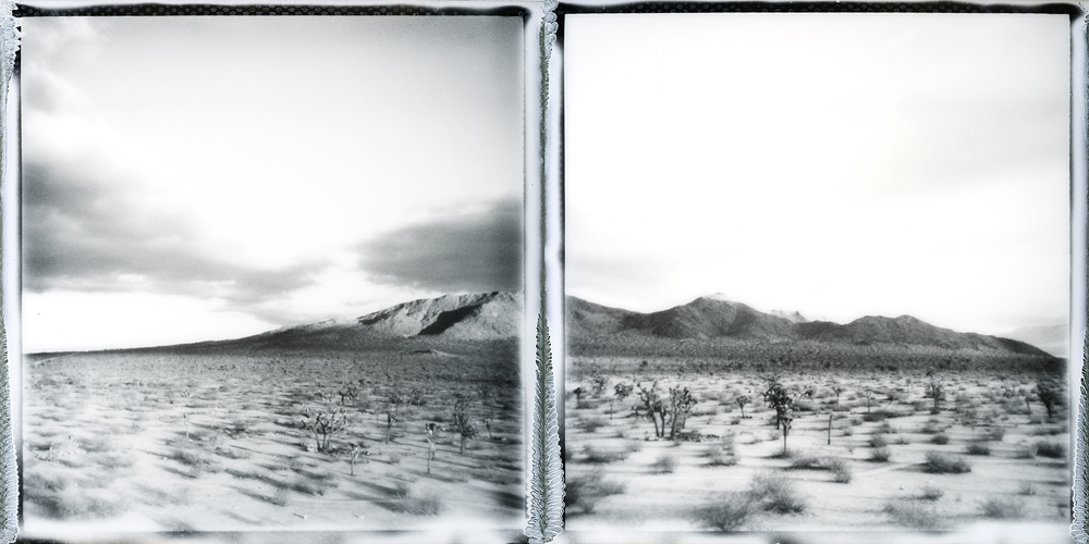 Saddleback Diptych | SX70 | Impossible Project Film | Michael Kirchoff