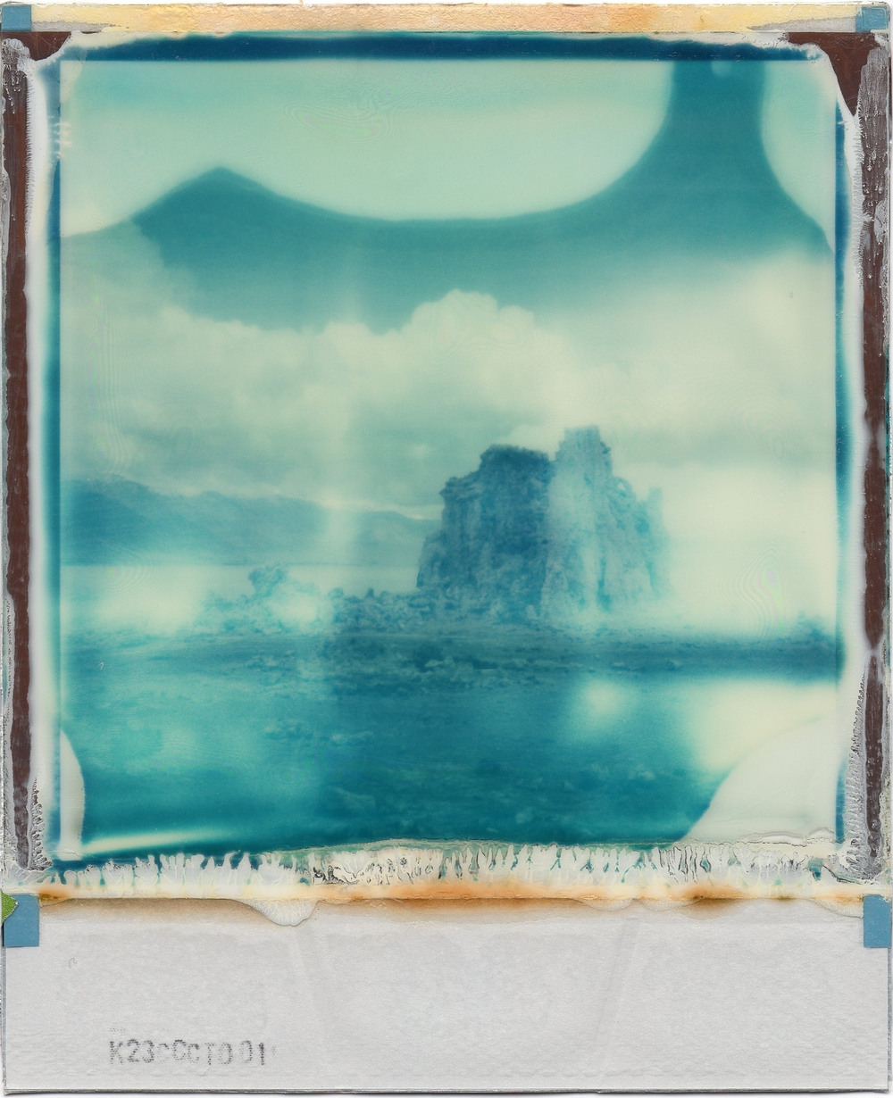 Into the Blue | Expired Impossible Poisoned Paradise 600 Film | Impossible I-1 | Julia Beyer