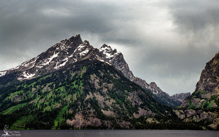 Jenny Lake | NikonF5 | Tamron SP24-70 |Singh-Ray Filters |Really Right Stuff | Ektar100 F16-1/20. Storm front rolled through for about 10 minutes and then it was gone.