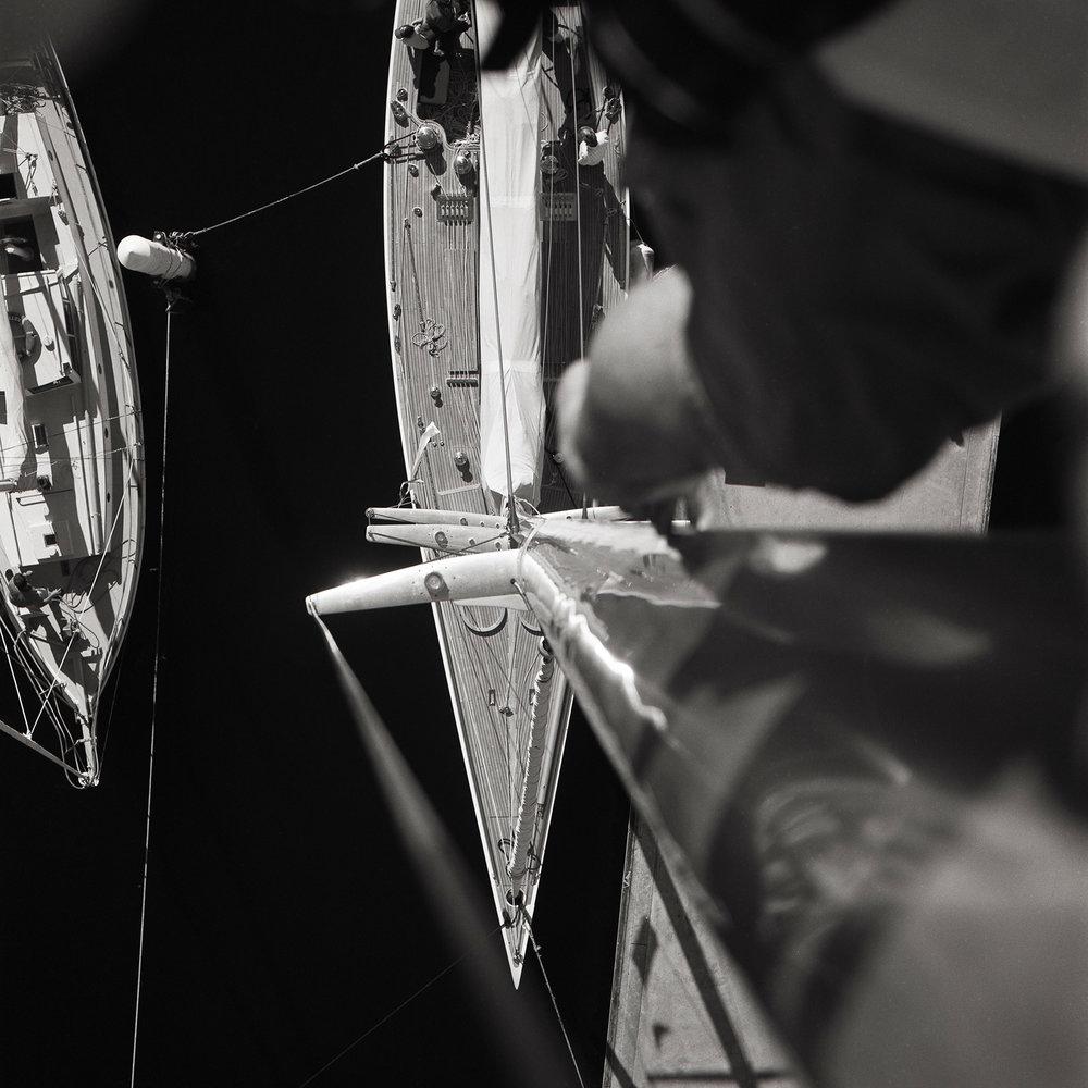 Mast | Hasselblad CM | Zeiss 80mm planar | Pan F | Brett Rogers