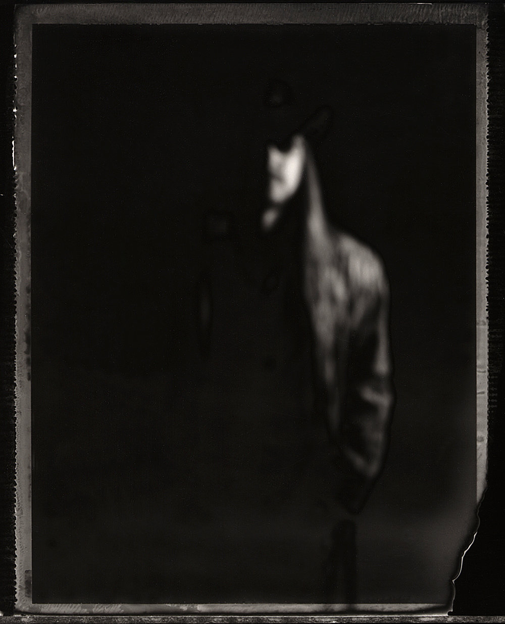 Scotty Boy McCoy | Graflex XL | Polaroid Type 665 | Michael Kirchoff