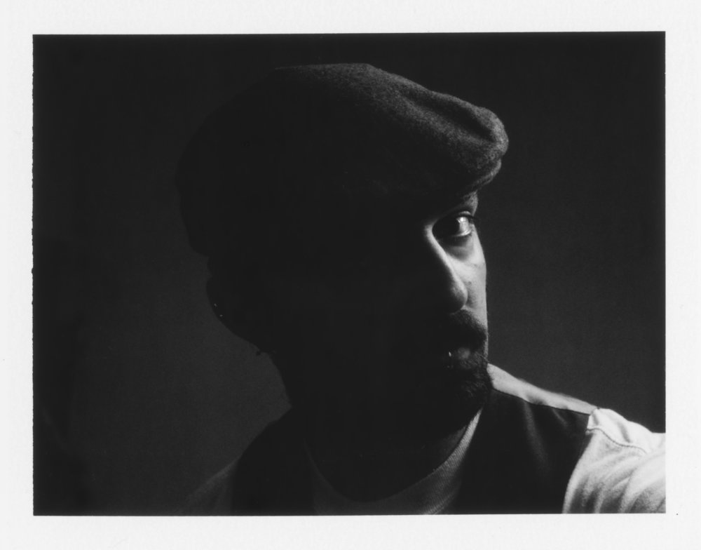 Self Portrait |  4x4 Crown Graphic | Fuji FP300b | Kelly-Shane Fuller