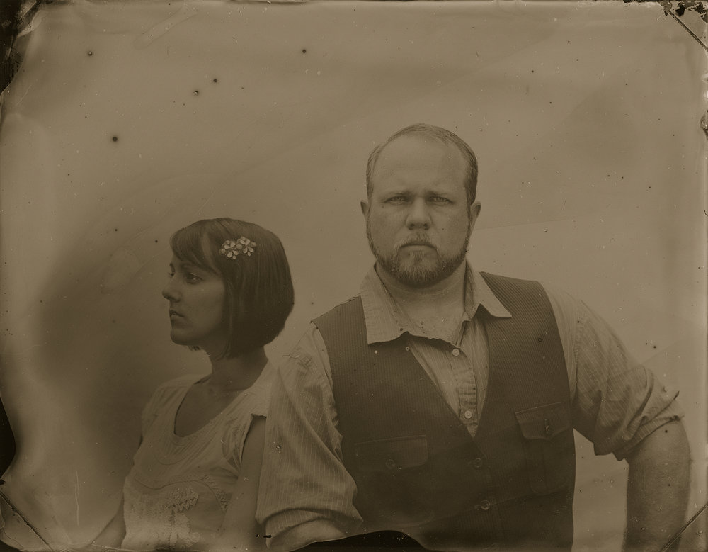 Eli and Sarah | Wetplate | Katt Janson Merilo