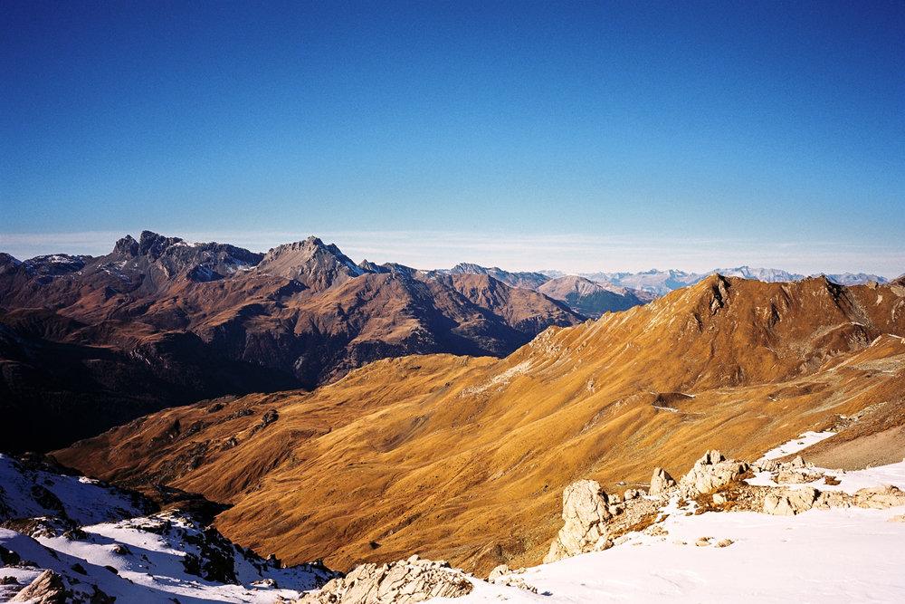 Swiss Alps | Bivio, Switzerland |Nikon FM3A | Nikkor 50mm f/1.2