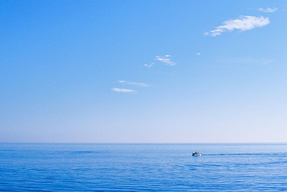 The Big Blue | Cannes, France |Nikon FM3A | Nikkor 50mm f/1.2