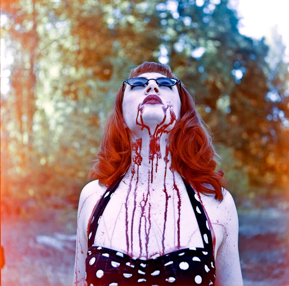 My Bloody Valentine |  Yashica 635 |  Kodak Portra 160nc |  Kelly-Shane Fuller