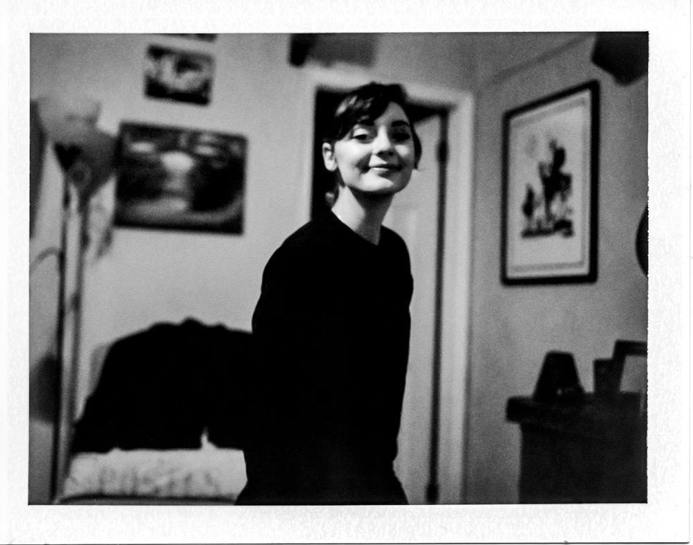 Jess | Modified Polaroid 360 | Tomioka114mm | f4.5 | FP3000b | Michael Fasucette