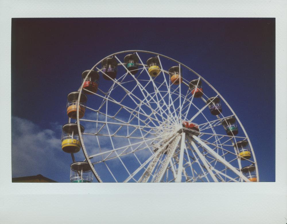 Barry Eye | Instax Wide 210 | Roger Harrison
