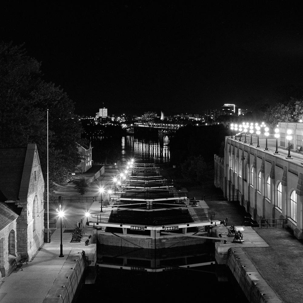 Rideau Canal | Minolta Autocord | Fuji Acros | Howard Sandler