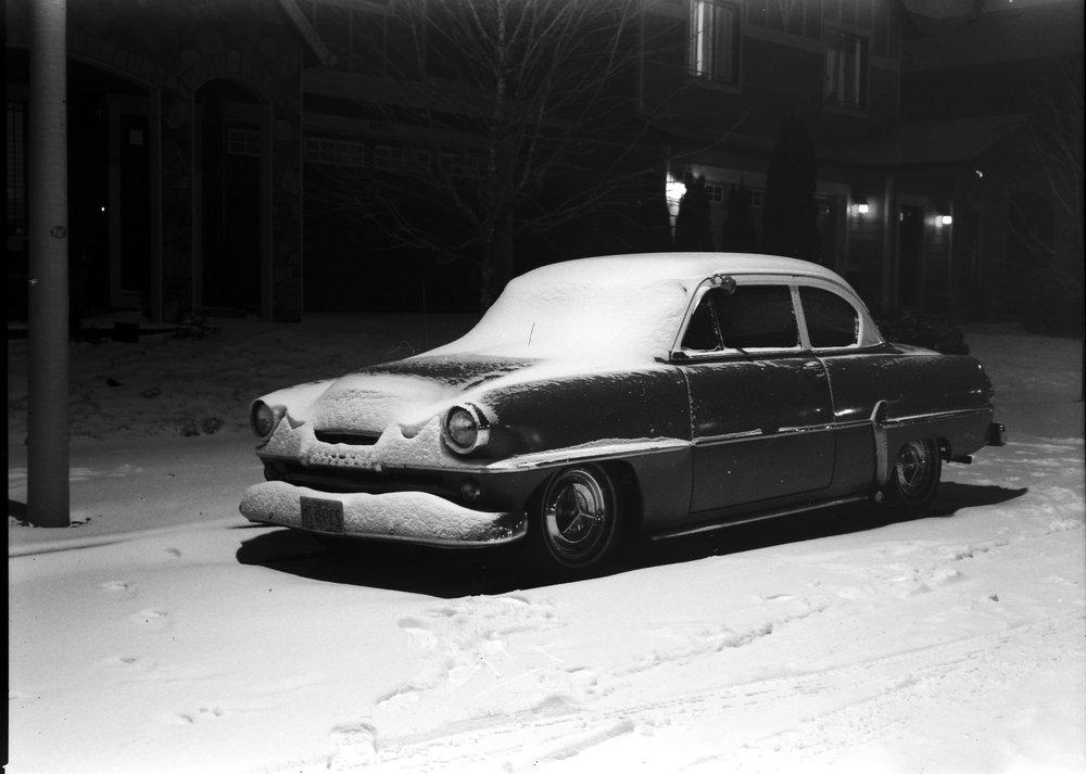 Snowy Savoy | Pentax67 | Fuji Neopan Acros100 | Kelly-Shane Fuller