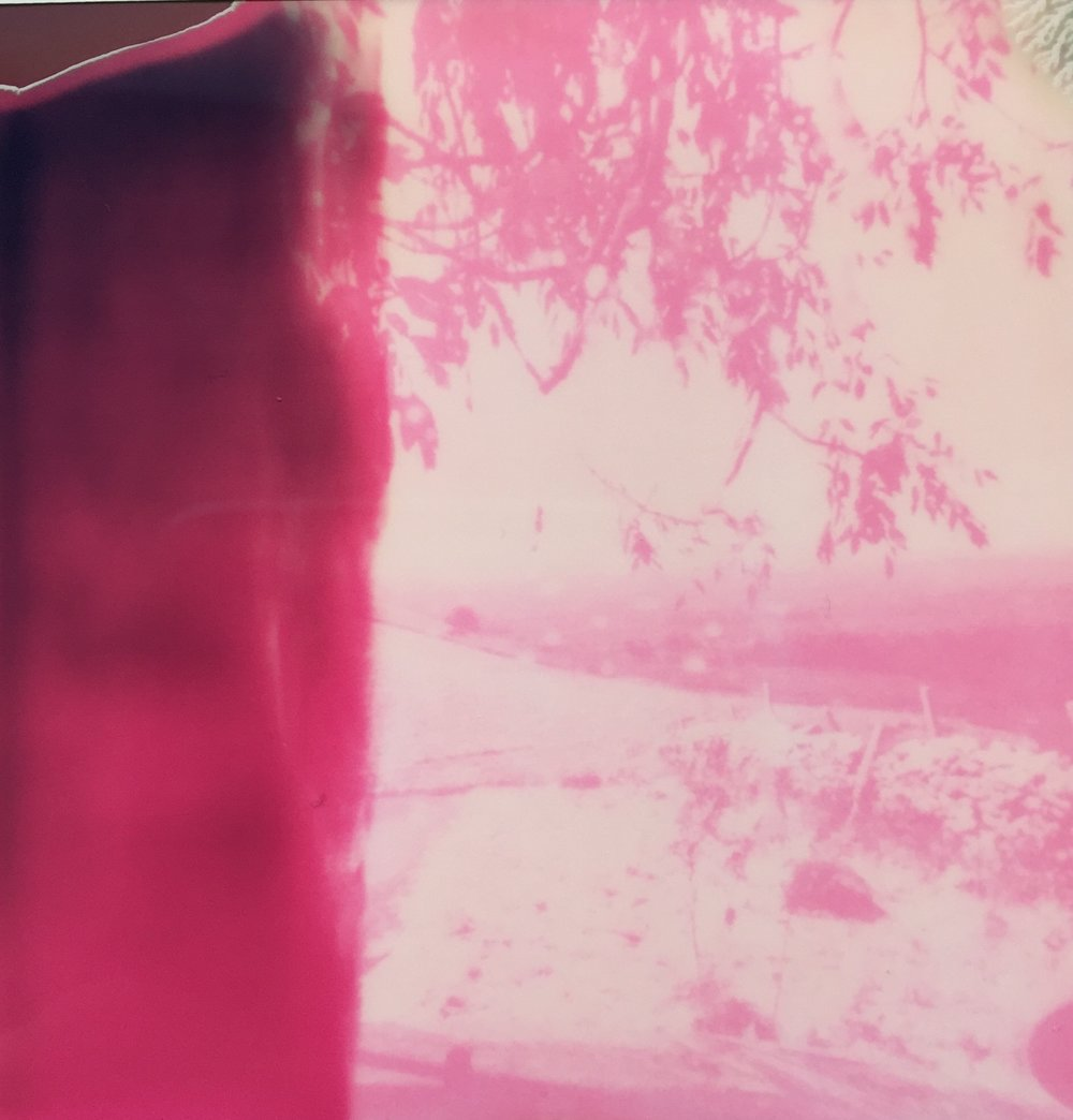 Untitled | Polaroid SX70 | Impossible Project Magenta (Expired) | Rachel Travers | @skarya_1984