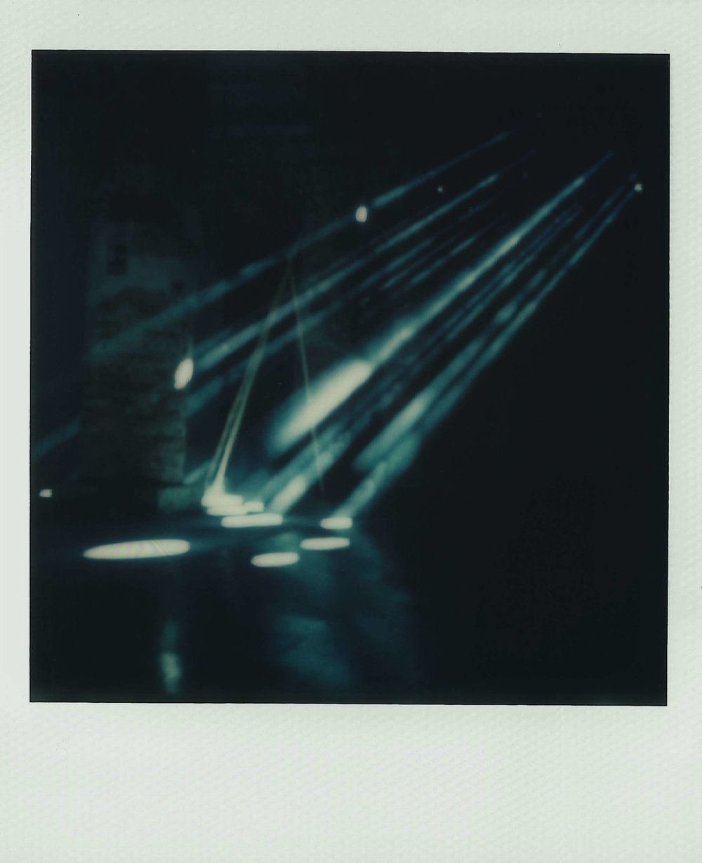 Light Holes | Polaroid SX70 | Impossible Project 70 Color | Marina Iní | @marina.ini