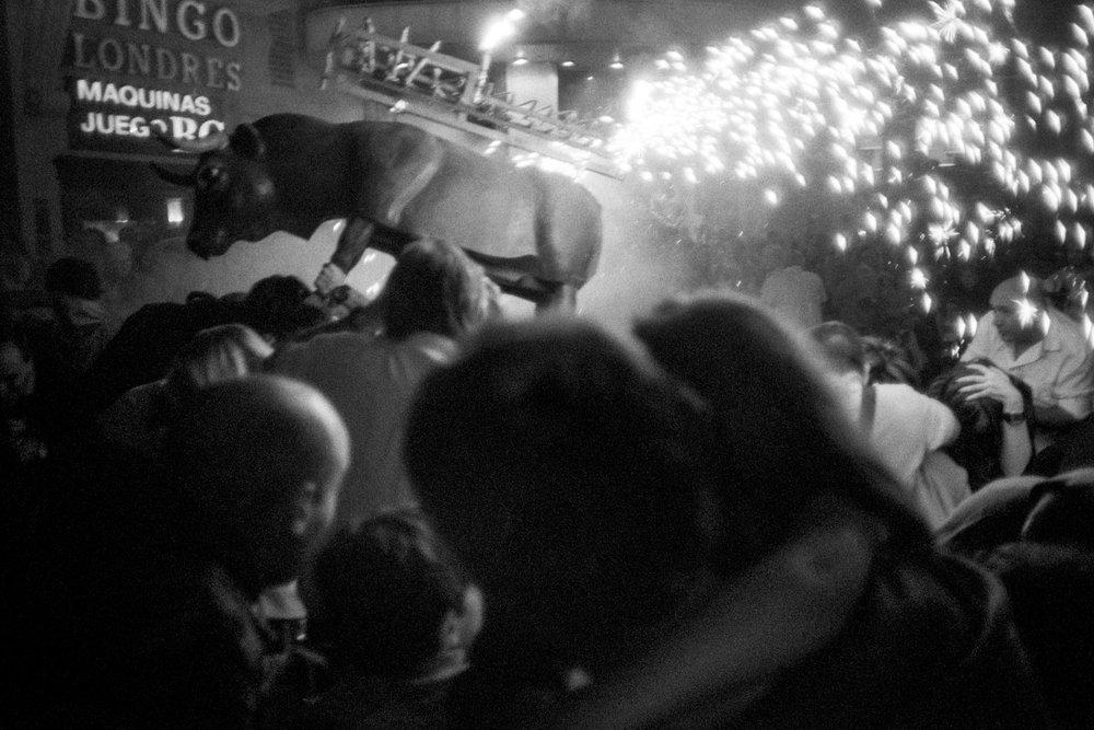 Toro de Fuego San Sebastian | Olympus XA | Kentmere 400 | Lilly Schwartz