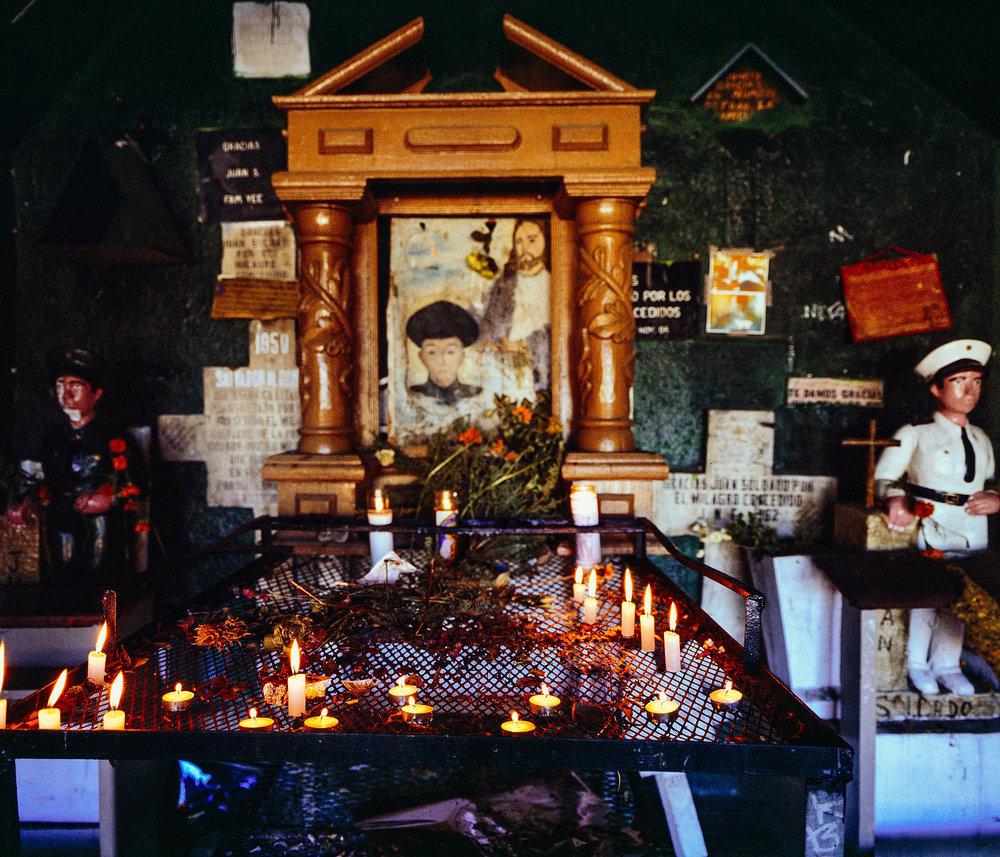 Juan Soldado Altar, Tijuana, MX |  © Cameron Kline