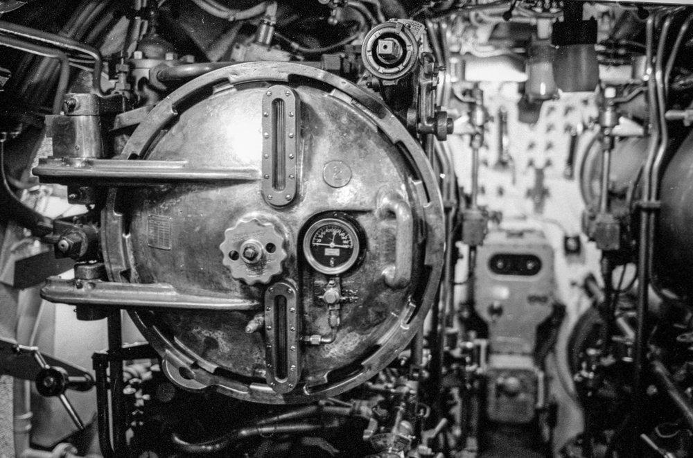 Torpedo Tube One | Leica MP | 50mm Sonnar Tri-X 800 | Tony Klimas