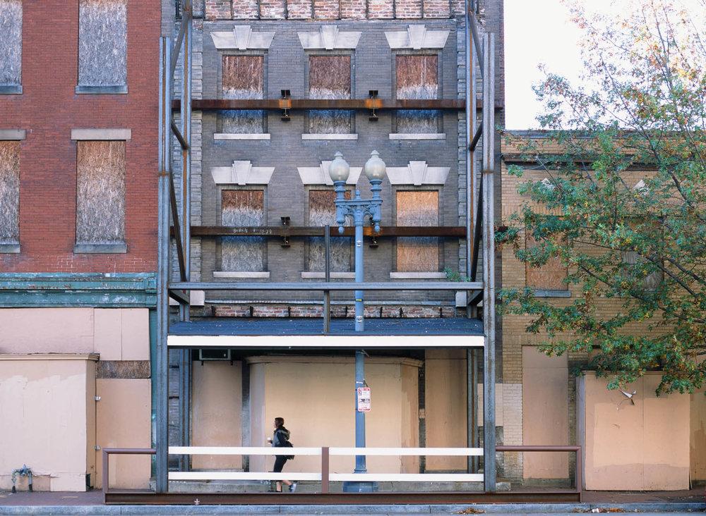 illusions and facades |Pentax 645n |Provia 100 |Deborah Candeub