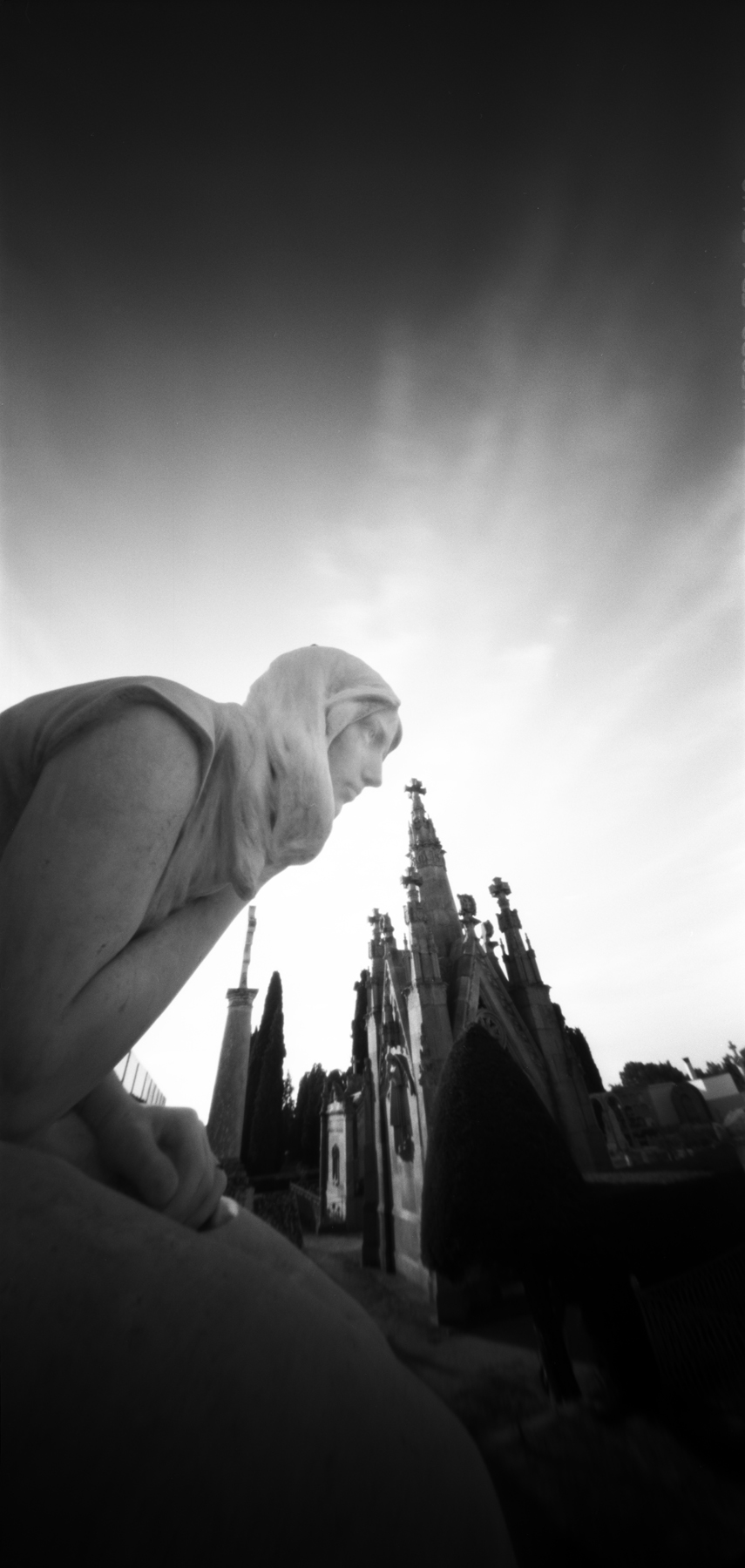 remembrance of the dead | 6x12 pinhole | Jesús Joglar