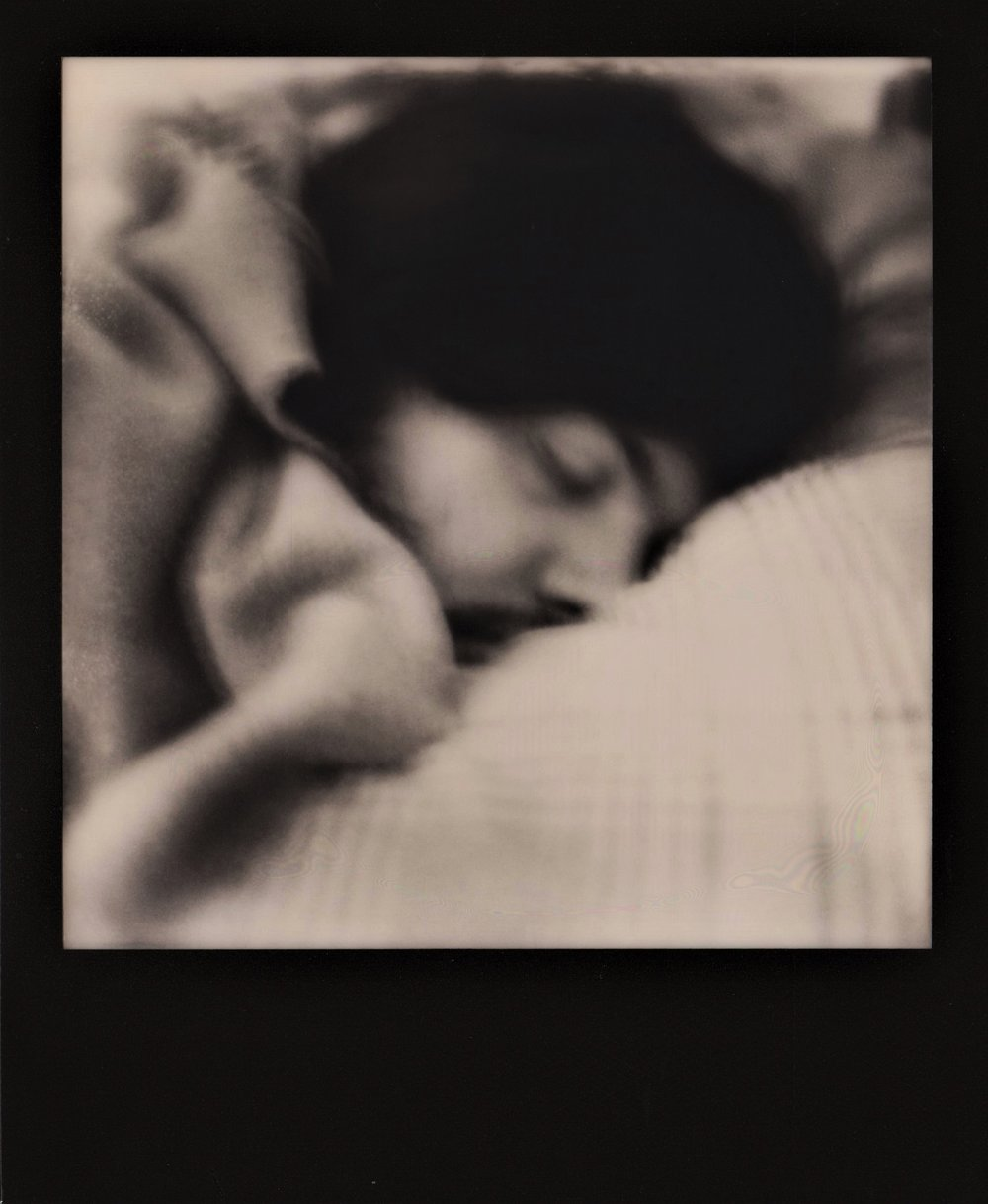 My Love Sleeping | SX70 | Marina Inì