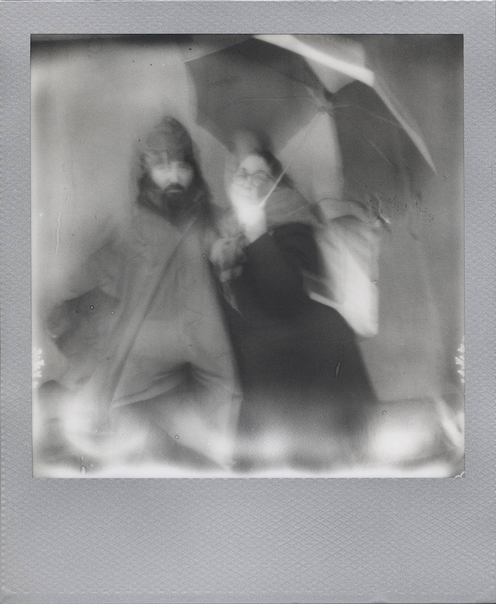 Ye Olden Days Lovers | SX70 | Impossible B&W | Ale Di Gangi