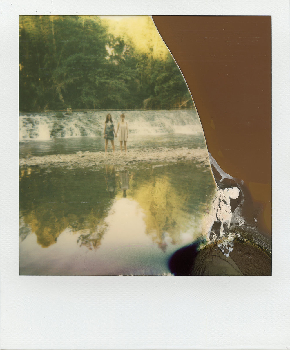 Lised and Psylvia | Polaroid Impulse | Impossible Color | La Fille Renne
