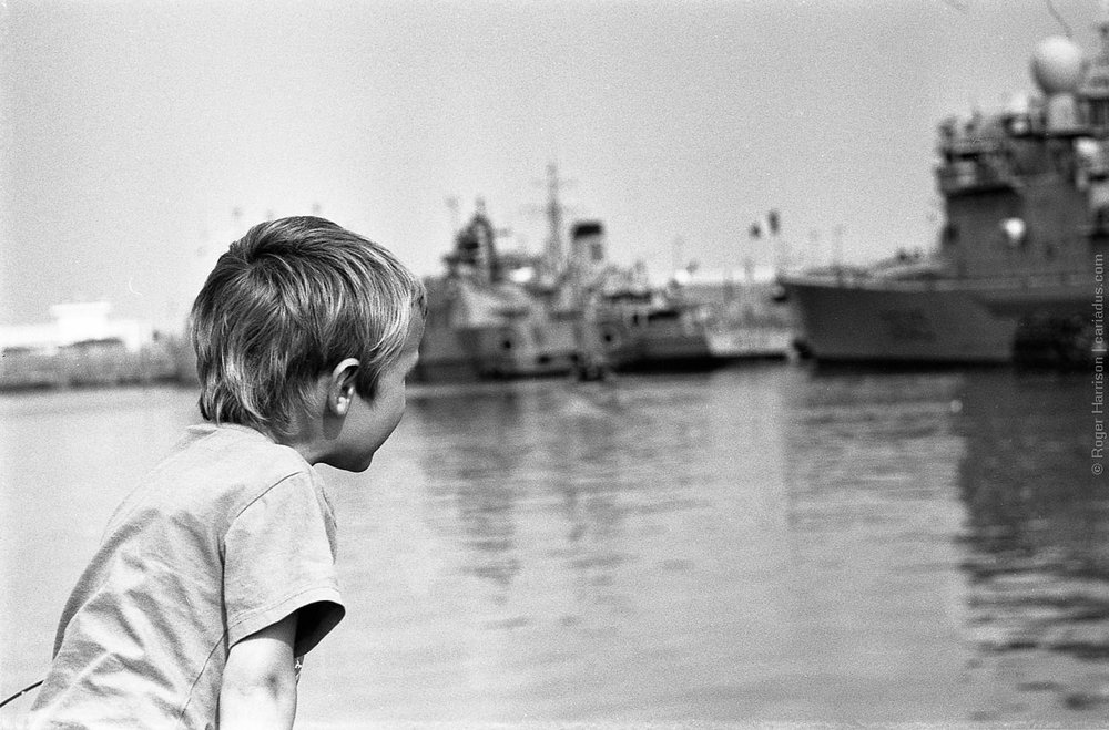 Roger Harrison | Longing to sail away | Olympus OM2N | Ilford XP2