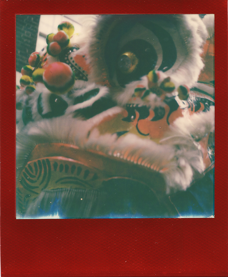 Dragon Dance | Polaroid SLR680 | Impossible Project Lucky | Ray Liu