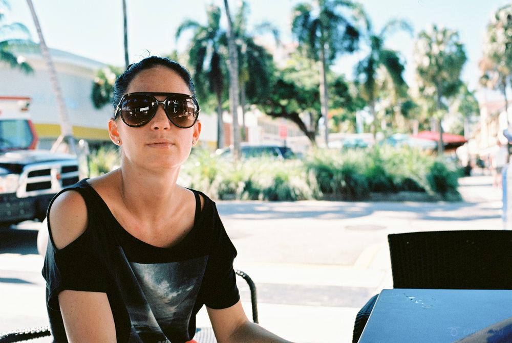 Chilling in Miami | Voigtländer Bessa R3M | Nokton 35mm 1.4 SC | Kodak Ektar 100
