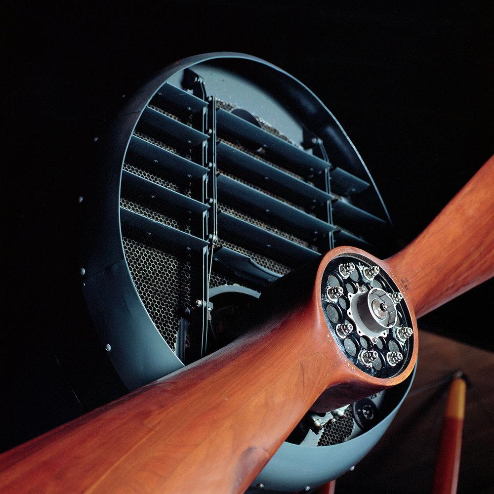 Bristol propeller | Bronica SQA 110mm | portra 160 | Howard Sandler