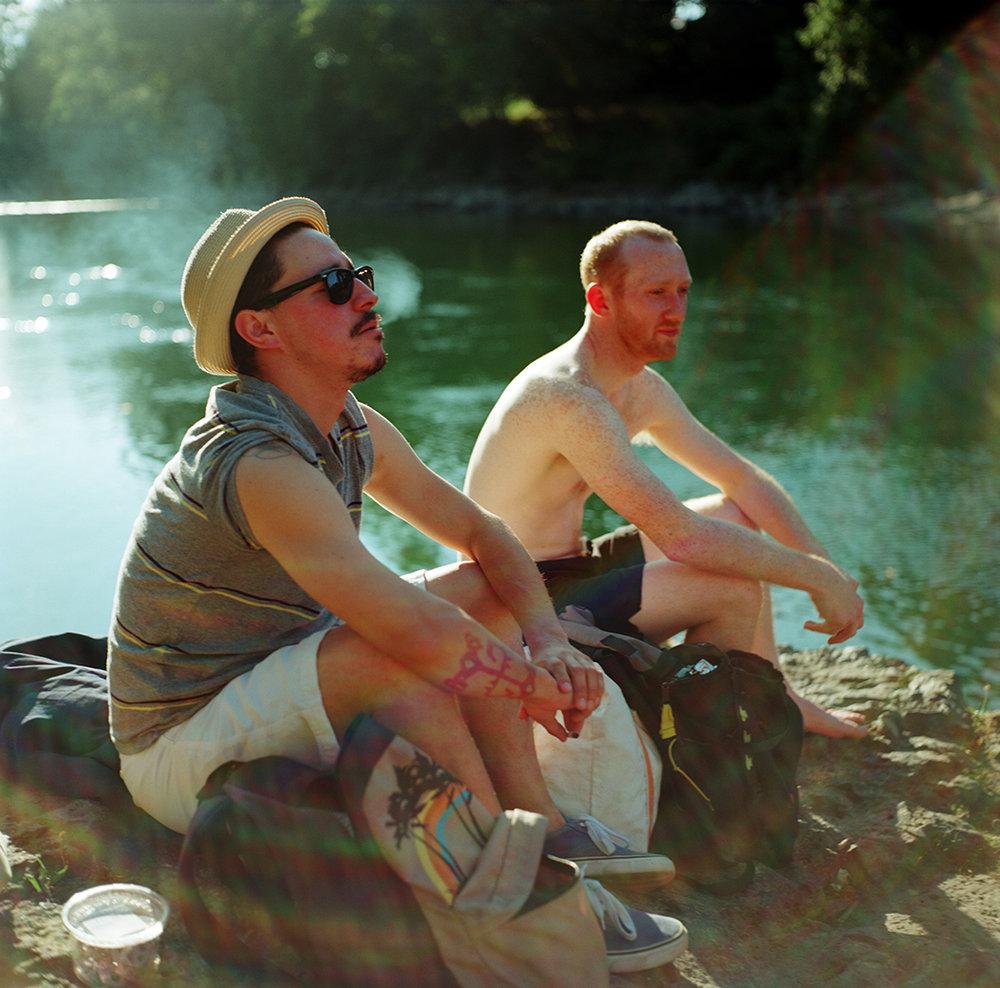 Sarah Taft | Summer River | Rollei | Ektar