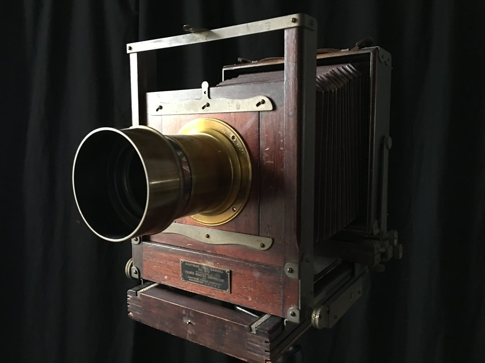 Milady, Kodak 2D 5x7 with 4x5 back and barrel lens