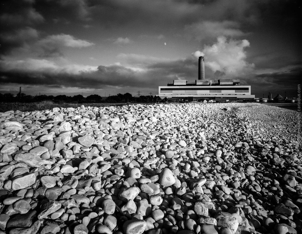 Aberthaw Power Station on Fomapan 100