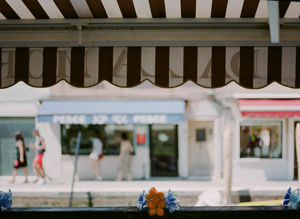 Murano Awnings | Pentax 645n | Fuji 160NS