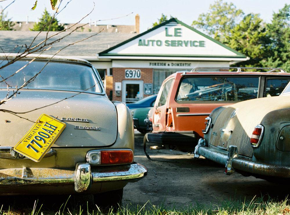 Le Auto | Pentax 645n | Portra 400