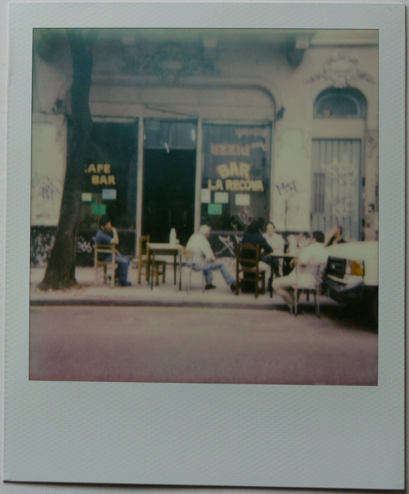 Bar La Carova | Polaroid One Step | Impossible Color 600 | Franco Carino Zanotti