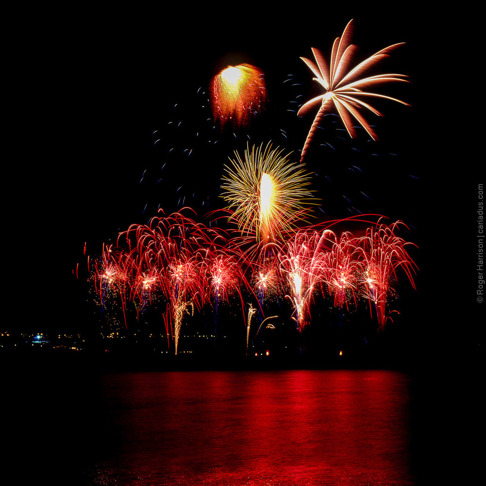 Roger Harrison | Fireworks | Hasselblad 500 ELM | Velvia 50