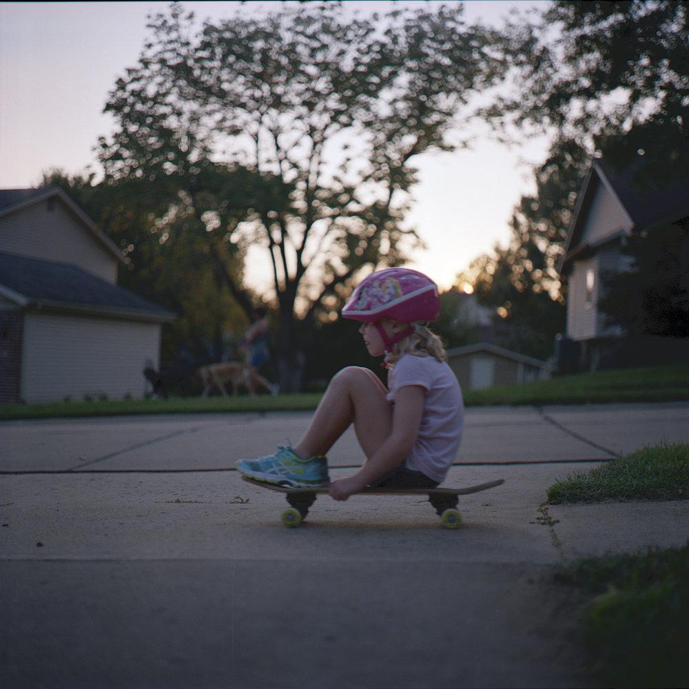 Roller Girl | Bronica C 75mm | Portra 800 | Brad Lechner