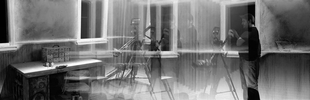Pop Meets The Void | Kodak Medalist II | Tri X | Colin Poellot