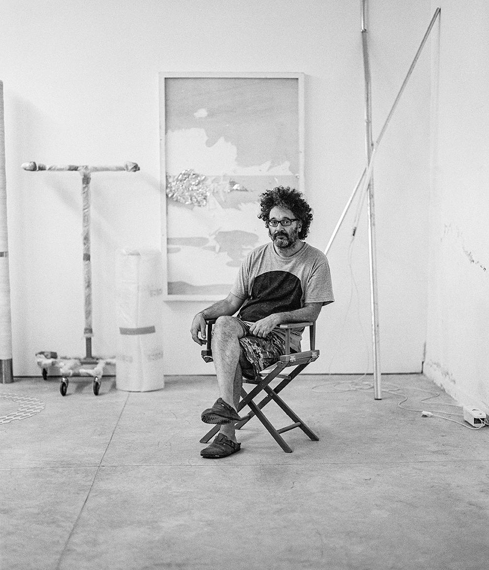 Giovanni Termini in his studio | Pentax67 TriX 400 | Emanuele Bertoni