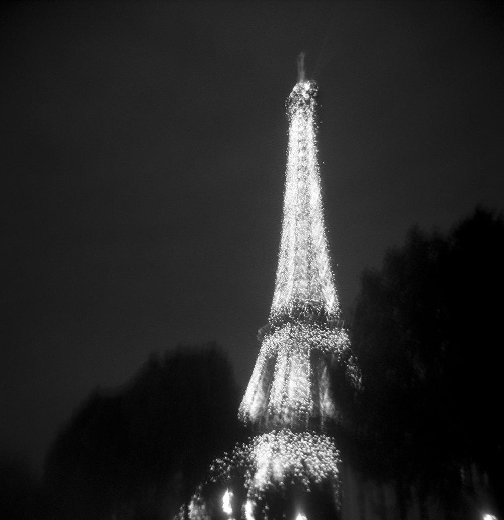 About 40 Eiffels | Holga 120N | Kodak Tri-X | Zeb Andrews